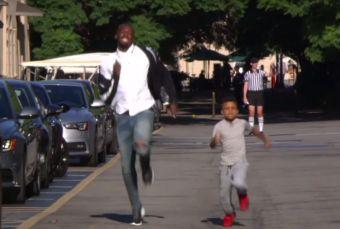 [Video] Usain Bolt es derrotado por un niño