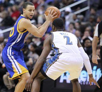 Stephen Curry derrotó a los Wizards anotando 51 puntos