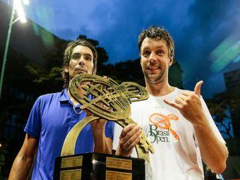 Julio Peralta se corona número 1 de Chile en ranking de dobles de la ATP