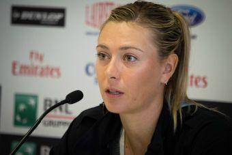 Maria Sharapova falló la prueba de drogas en el Abierto de Australia