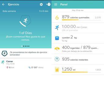 Mi App favorita para hacer Ejercicio o Deporte: Fitbit