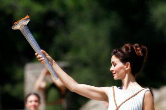 En Grecia se encendió la llama olímpica en camino a Río 2016