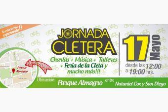 Jornada Cletera en el Parque Almagro - 17 de mayo 2015