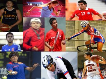 Las 10 promesas del deporte nacional