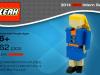 Estudiante realizó un curriculum ¡En forma de Lego!