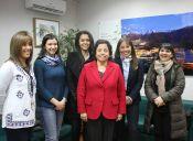 Ministra Aurora Williams trabaja en proyecto de participación femenina en la minería