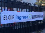 Estudiantes se tomaron sede de la Comisión Ingresa y exigen que se condone la deuda del CAE