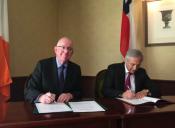 Chile firma convenio de Working Holidays con Irlanda