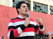 """Presidente de la Federación de Estudiantes de la U. de Talca critica """"negligencia"""" de la Junaeb en entrega de la TNE 2015"""