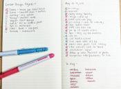 ¿Te cuesta organizarte? Conoce el método Bullet Journal