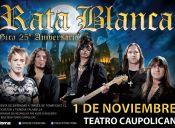 Rata Blanca en Chile, Teatro Caupolicán