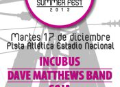 Santiago Summer Fest en Pista Atlética Estadio Nacional