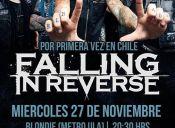 Falling in Reverse en Chile, Discoteque Blondie