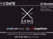 "QUE GANE EL MEJOR:  START-UP CHILE Y ANGELHACK TE TRAEN ""DEMOBATTLES"""