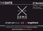"QUE GANE EL MEJOR:  START-UP CHILE Y ANGELHACK TE TRAEN ""DEMOBATTLES"""