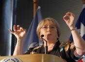 Matthei y Bachelet en disputa por  el sillón presidencial