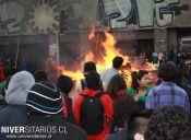 Feuc entregó su apoyo a estudiantes venezolanos pero rechazó hechos de violencia