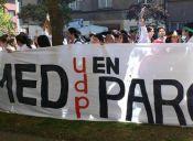 Estudiantes de Medicina de la UDP se tomaron su facultad