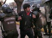 Presidente de la Feusach critica actuar de Carabineros en la última marcha