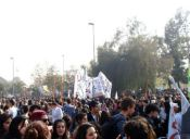 Continúan protestas por la Educación con marcha que convocó más de 100 mil personas