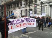 Huelga indefinida: Periodistas del Mercurio de Valparaíso, La Estrella y Líder