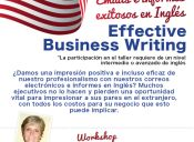 Workshop Effective  Business Writing
