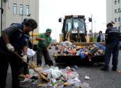 El paro de los recolectores de basura y los abusos laborales