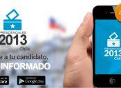 Aplicación permite conocer programas de gobierno de candidatos presidenciales