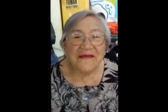 Abuelita Eliana de MasterChef llama a marchar este jueves