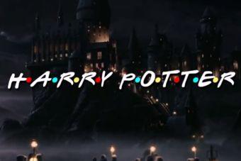 [Video] Intro de Harry Potter igual a la de Friends ¿cómo sería?