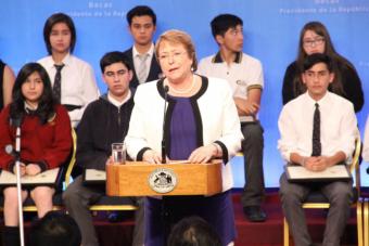 Presidenta ordena ingresar Reforma a la Educación Superior en diciembre