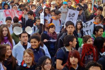 Gratuidad: Estudiantes de la Confech marcharán esta tarde por el Paseo Ahumada