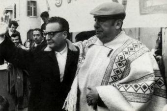U. de Chile libera compilado de imágenes inéditas de la vida de Pablo Neruda