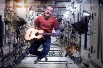 Astronauta lanzará disco grabado en el espacio