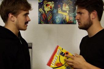 VIDEO | Dos jóvenes alemanes te enseñan cómo hablar chileno