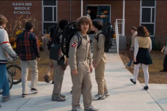 Así anunció el Super Bowl la segunda temporada de Stranger Things