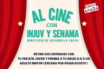 Injuv te regala entradas para que invites a tu abuelo al cine