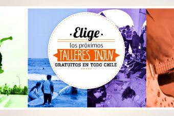 Inscríbete en los talleres que INJUV ofrece en todo Chile