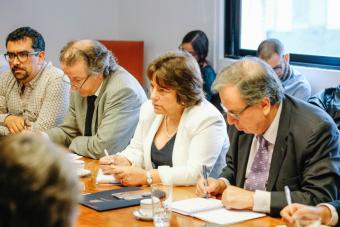 Ministra Delpiano se reunió con gremios de trabajadores de la Educación Superior