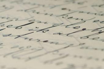 Cómo casi me echo un ramo por mi caligrafía