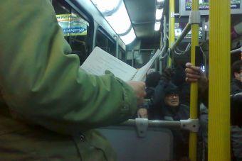 Estudiar en el transporte público, ¿sirve?