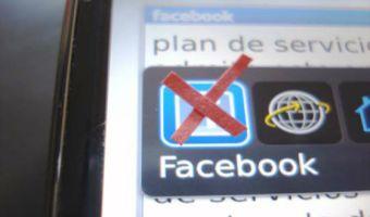 5 motivos para borrar Facebook de tu celular