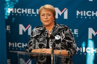 Bachelet no va al debate.