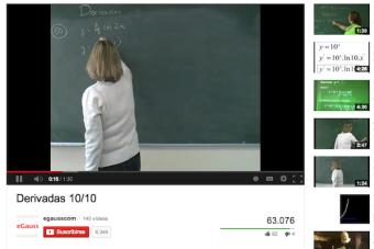 """Estudiar con la ayuda del """"Profesor YouTube"""""""