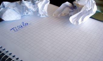 Síndrome de la página en blanco: cuando la inspiración no llega y tenemos que hacer un trabajo