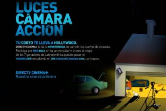 """Abierta la postulación a las becas """"DIRECTV CINEMA +"""""""