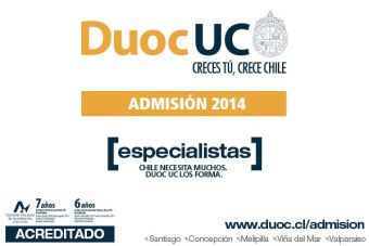 Cinco carreras de Salud se toman Duoc UC San Carlos de Apoquindo