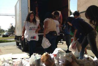 INJUV hace llamado a inscribirse como voluntario e ir en ayuda de Valparaíso