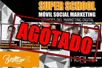 Seminario Super School Móvil Social Marketing agota venta de entradas