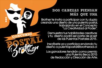 """Concurso Dupla """"La Pulenta Postal"""" Brother"""